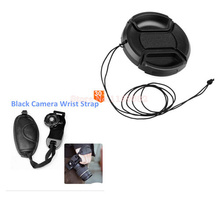 40.5mm Lens Cap Cover  + Wrist Hand grip strap For Nik&n J1 J2 V1 V2 Samsung NX1000 NX2000 NX100 NX200 NX210 Olympus E-PL5