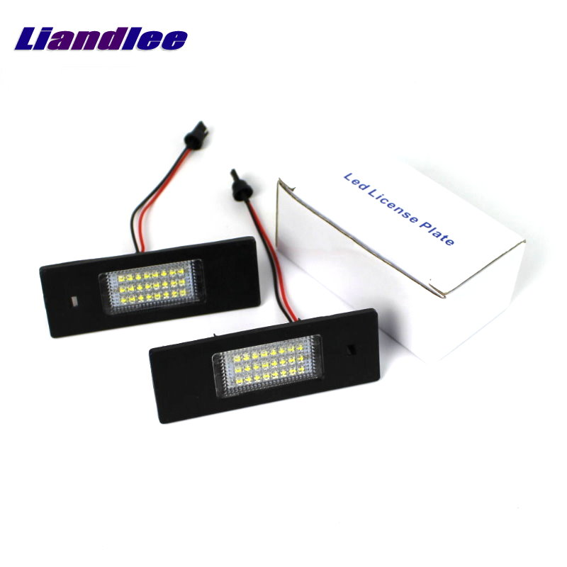 Liandlee For Vauxhall Opel Insignia Buick Regal 2009~2014 LED Car License Plate Lights Number Frame Light High Quality LED Lamp<br>