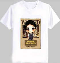 Super Junior member cute cartoon image print T-Shirts men And women sj comic wanted for super junior harajuku t shirt
