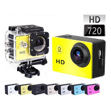 Goldfox Sport Action Cameras 720P HD Video Camera 30M Go Waterproof Pro Camera Bike Helmet Cam With Retail Box