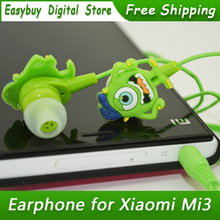 New High Quality Stereo Cartoon Earphone For MP3 Player Cute Piston Headphone For Mobile Phone