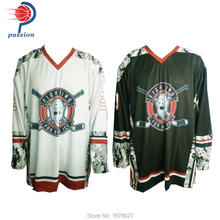 Light Weight Quick Dry US Standard Sizing Camo Design Reversible Hockey Jerseys For US Hockey Teams(China)