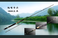 KAWA new production US series, spinning lure rod, M action.2.1m/2.4m/2.7m, Weever rod, Japan Fuji wheel seat. Free shipping(China)