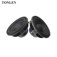 TONLEN 2PCS 4 ohm 5 W Full Range Speaker 45mm 16core NdFeB magnetic full frequency speaker DIY Portable Bluetooth Speaker
