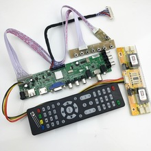 Tv-Board Cable-Inverter Tv-Controller Universal D3663LUA Dvb-t2/T/c Digital with LCD