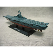 Atlas World War Ii Usa Class Essex Aircraft Carrier Model 1/1250 Scale Diecast Finished Alloy Toy For Collect Gift