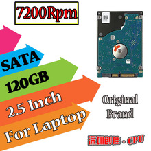 "2.5"" SATA 120GB 120g sata 7200RPM 8MB Internal Hard Disk Drive laptop notebook Free Shipping screw driver free 7200"