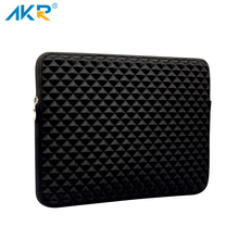 Laptop Sleeve bag For MacBook Air 13 sleeve case Pro Retina 11 12 13 15 inch Shockproof Fashion Diamond Style Free shipping(China)