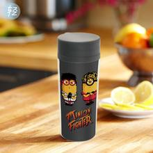 Personalized Modern Drinkware With Lid BPA Free Plastic Insulated Street Fighter Pop Game Boys Cartoon Water Bottles 300ml Gifts