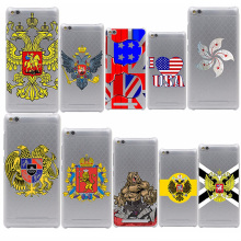 National US UK Russian Flag Design Hard Case for Meizu M2 Mini M2 M3 Note & Redmi 3 Pro 3S Note 2 3 Pro