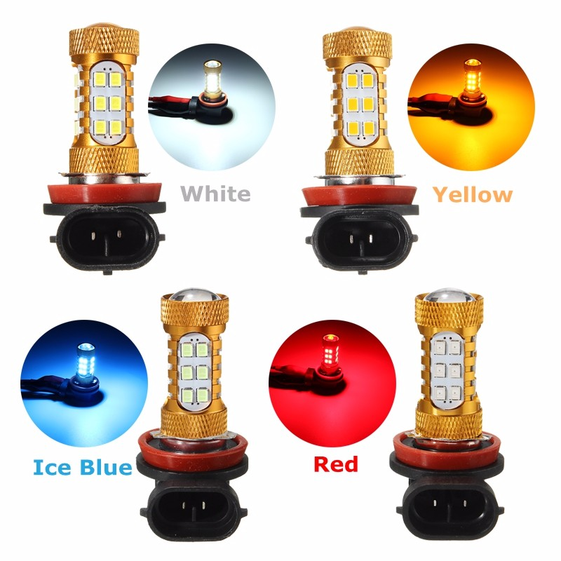 2pcs H8 H11 2835 1485LM 27 SMD LED Car Headlight Fog Light Lamp Daytime Running Light Auto LED Bulbs DRL Fog Headlight Lamp<br><br>Aliexpress