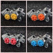 ADL-11 Double star calipers Motorcycle modification ADL 11 electric motorcycle four piston brake calipers For WISP RSZ YAMAHA