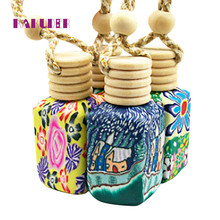 12ml Hanging Car Room Air Freshener Perfume Diffuser Fragrance Bottle Decor Gift Pasta de perfume new hot drop shipping 17july26