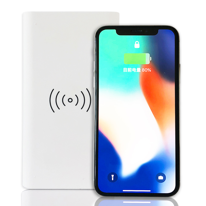 QI Wireless Charger 2.1A Universal External Power Bank iPhone X 8 8P Galaxy S8 S9 Note 8,Huawei Mate 10,P10 Quick Charge