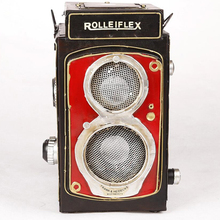 Antique retro loudspeaker box music sound box model for home decoration store display windows ornaments