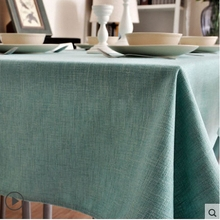 Classic Solid Color thickening Table Cloth High Quality Lace Tablecloth Decorative Elegant Table Cloth Linen Table Cover