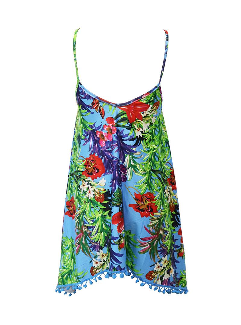 LASPERAL Summer Dress 2017 Female Women Dress Summer Style Vestido De Festa Sundress Plus Size Women Clothing Robe Beach Dress 10