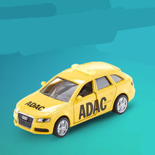 Free Shipping/Siku 1422 Toy/Diecast Metal Model/1:55 Scale Audi A4 ADAC Road Protect Car/Educational Collection/Gift/Kid/Small