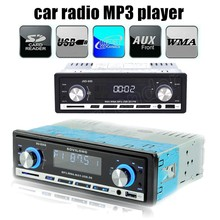 New 2015 12V Car Stereo FM Radio MP3 Audio Player Support Bluetooth Phone with USB/SD MMC Port Car radio In-Dash 1 DIN SU-930A