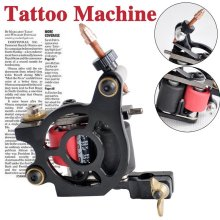Free Shipping  top quality models of professional tattoo machine 5-color tattoo machine gun