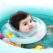 Mambobaby Swimming Baby Neck Float Ring Inflatable In Water Kids Swimtrainer 6pcs Newborn Circle For Bathing Infant Swim Ring
