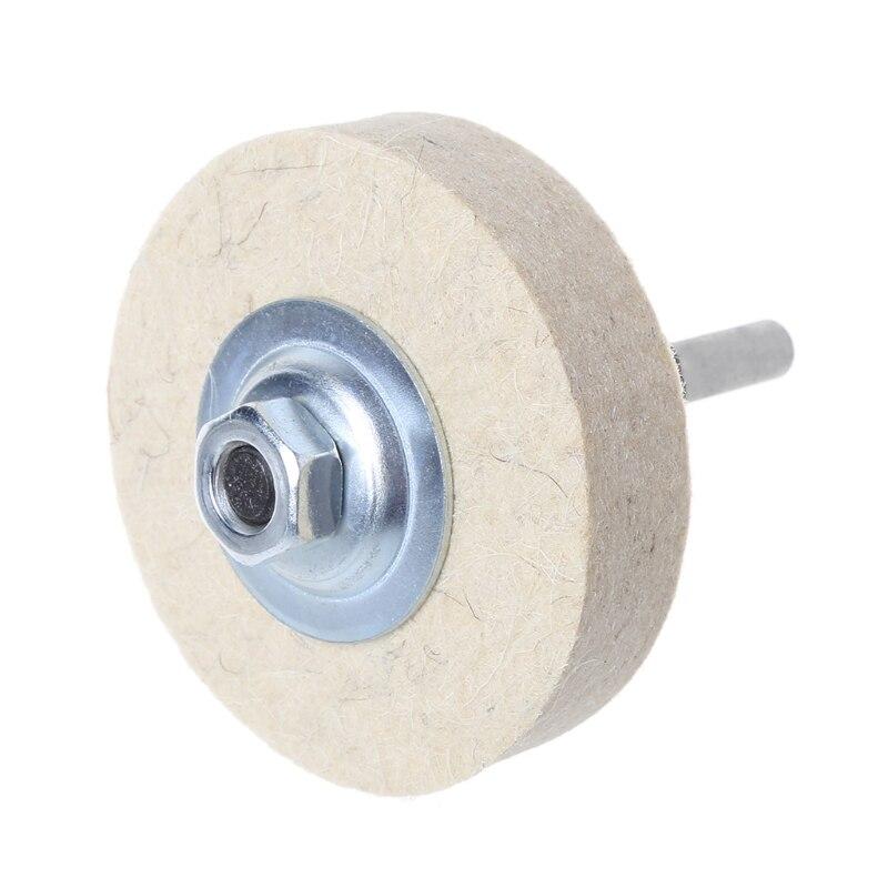 joyas y muebles pulido fino vidrio 2 discos pulidores de fieltro de lana de 10 cm para pulir discos de acero inoxidable