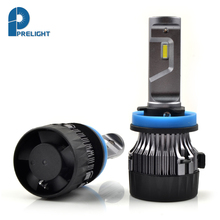 PRELIGHT 2018 New Listing MINI 30W H11 Headlight Bulbs Special Chip LED Automobiles DIY Small H11 LED Headlightt 6500K LED Lamp(China)