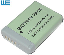 NB-13L, NB13L 13L Battery for Canon PowerShot G5 X G5X  G7 X G7X G7 X Mark II  G9 X G9X Mark II SX620, SX720.