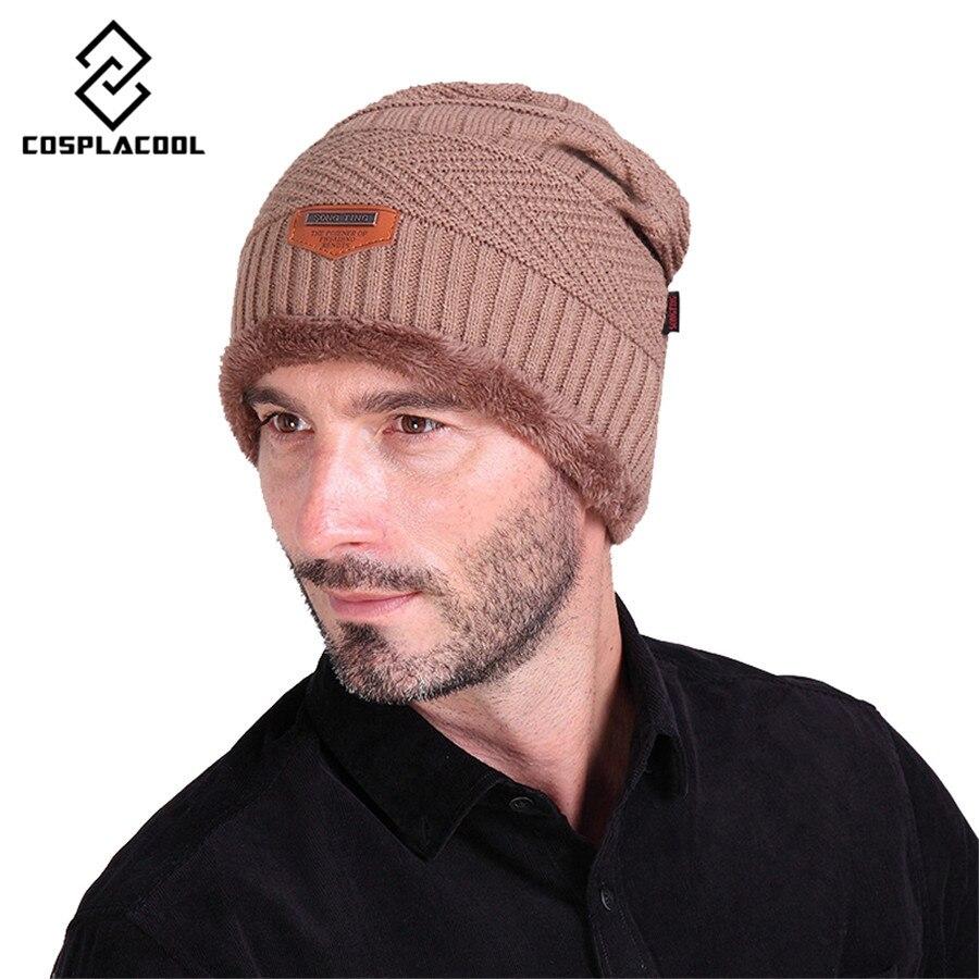 [COSPLACOOL] Mens hats outdoor sport warm men and women warm hats beanie hat winter knitting wool caps for unisex capsÎäåæäà è àêñåññóàðû<br><br><br>Aliexpress