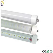 15pcs/lot T8 LED Tube Light 48W/40W 8FT 30W 6FT High bright SMD2835 AC85-265V single pin Fa8 neon 28LM/LED replace indoor lamp