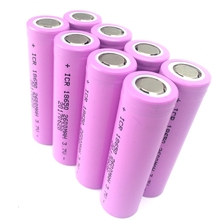 Factory Price 8pcs/lot Original 3.7V 18650 2600mah Batteries Li-ion Rechargeable Batteries for For Flashlight Power Bank(China)
