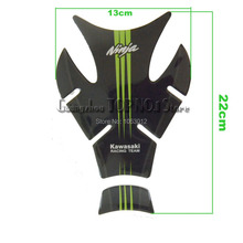 Free shipping motorcycle accessories tank stickers fuel gas tank pad cover for kawasaki ninja