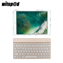 Witsp@D Usb Keyboard For Ipad Tablet 9.7 Inch Bluetooth Keyboard With 7 Color Backlit For Android Systems For Windows(China)