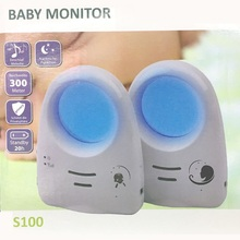 2016 Hot 2.4G Digital Wireless Audio Sound Baby Monitor support Voice Control Baby Cry Detector Intercomunicador Bebe(China)