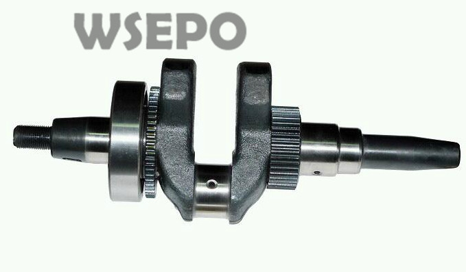 Chongqing Quality! Tapered Crankshaft for 186F L100  9HP Air Cooled Diesel Engine powered 5~5.5KW Generator<br>