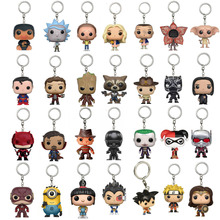 28 Patterns Marvel Ant-Man 2 Daredevil DC Super Heroes Superman Collection Keychain Toys Fantastic Beasts Niffer Rick and Morty(China)