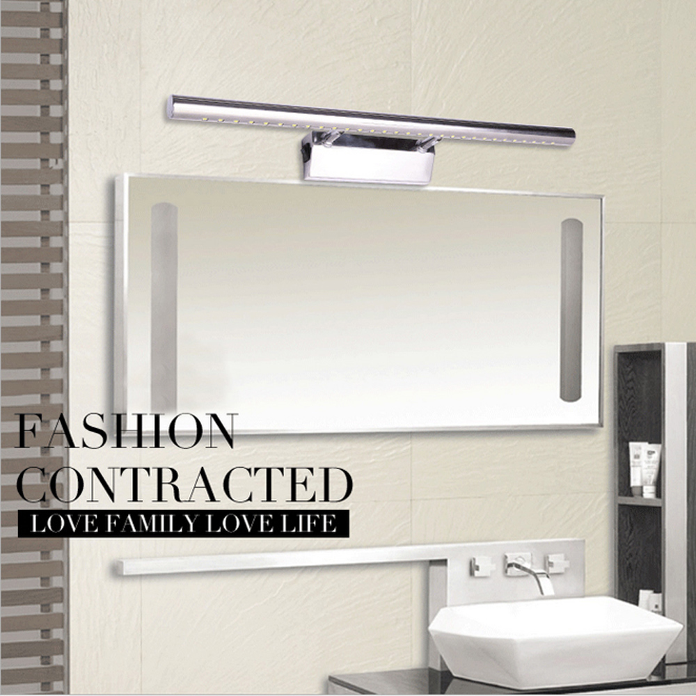 Modern Wall Lamps LED Lighting Stainless Steel Lampada De Led WARM WHITE/COLD WHITE 7W 5W 9W Bathroom Light 85-265V Wall Lights<br>