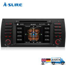 A-Sure Car DVD Player GPS stereo FM/AM RDS Radio Navigation for BMW E39 X5 5 Series E38 E53 IPOD Bluetooth RDS USB SWC(Hong Kong)