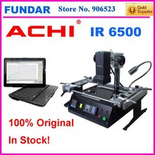 Hot sale Free shipping Offical agent intelligent temperature system software control ACHI IR6500 Dark IR BGA rework station(China)