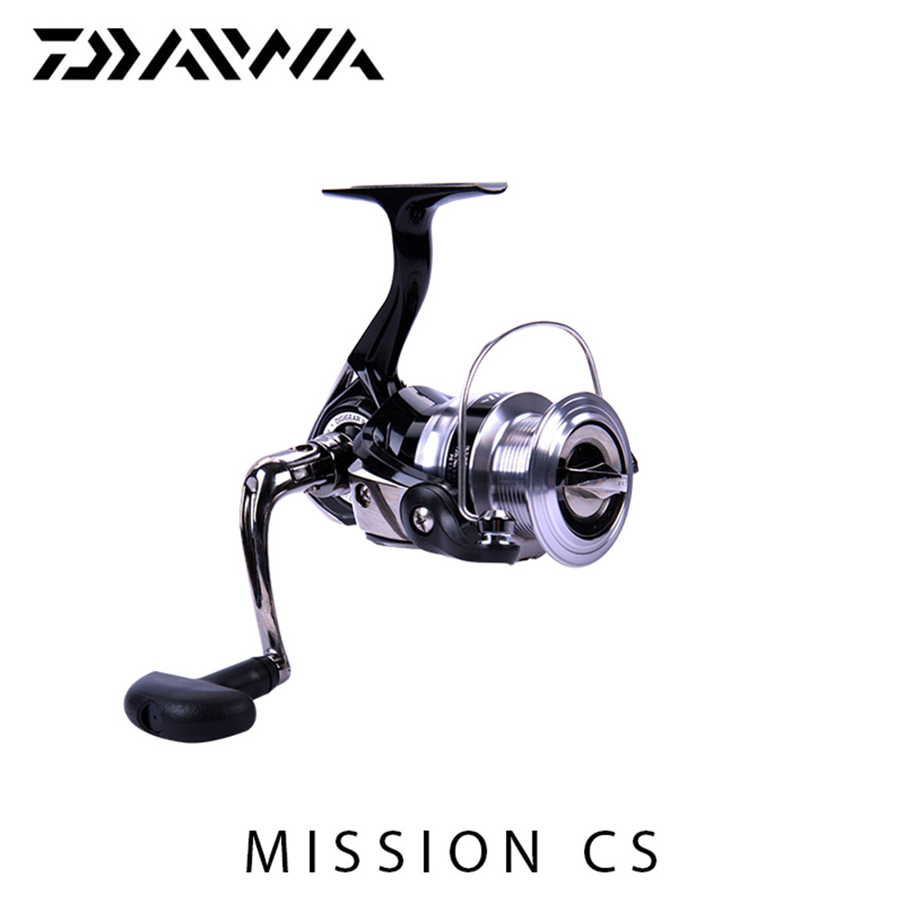 New DAIWA fishing reel MISSION CS Spinning fishing reels Aluminum Spool DIGIGEAR II gear Improve durability carrete de pesca<br>