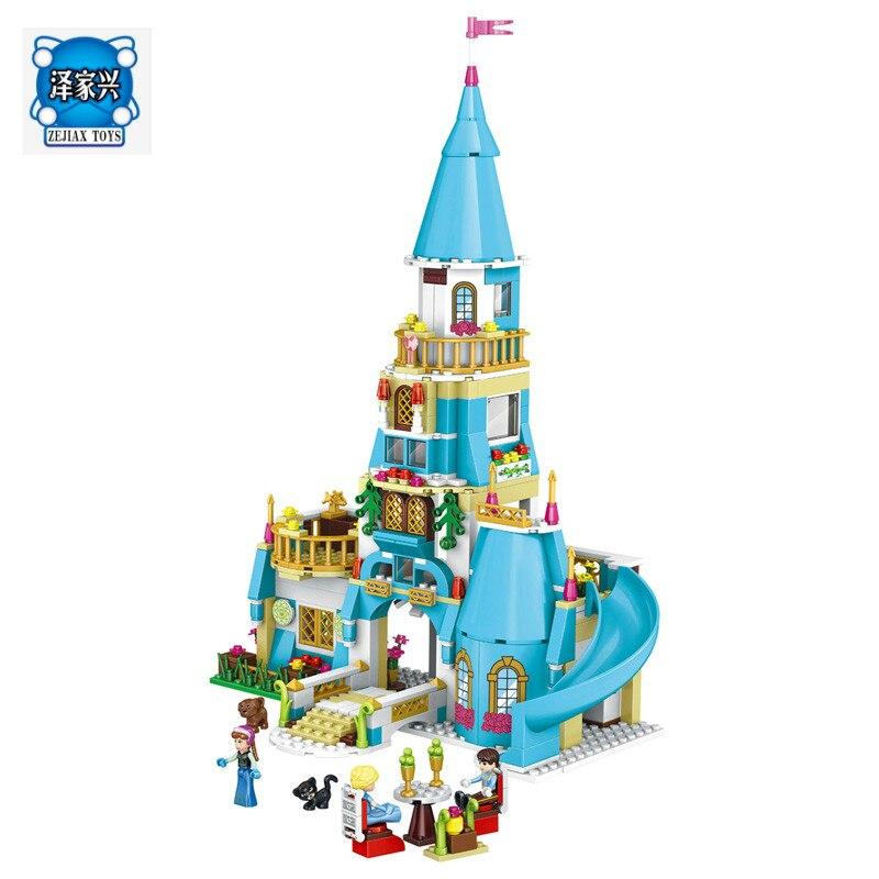 Princess Anna and The Prince Castle Construction Model Minit Kits Blocks Bricks Toys Compatible Lepins Building Figures<br>