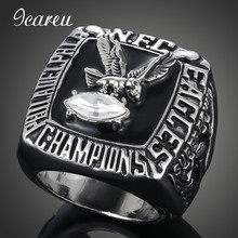 Championship Rings Finger Rings Fans Rings 1980 Philadelphia Eagles Super Bowl Rugby Championship Ring