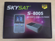 SKYSAT S8005 satfinder dvb-s2 Satellite Finder with Spectrum analyzer MPEG-2/MPEG-4 Satellite Meter satlink ws6916 SKYSAT s-8005
