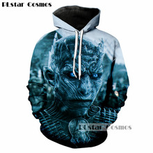 PLstar Cosmos Brand clothing Game of Thrones The white walkers Ghost 3D Print Men/Women Hoodies Casual hoodie Cool Sweatshirts(China)