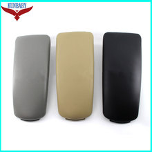 KUNBABY OEM Leather Auto Center Console Armrest Pads Cover Arm Rest Box For Audi A4 B6 B7 2002-2008 Car Styling