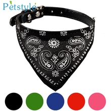 Adjustable Pet Dog Puppy Cat Neck Scarf Collar Neckerchief Very Cool Pet shop Supplies Levert Dropship 3MAR20(China)