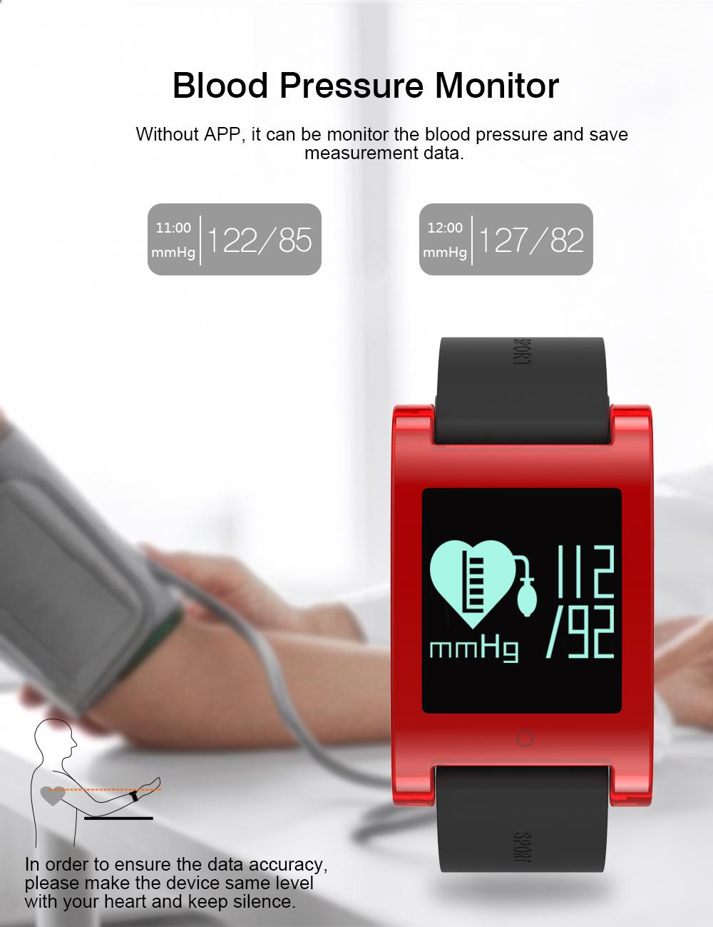 FREZEN Smart Bracelet DM68 Smart Band Fitness Sleep Activity Tracker Blood Pressure Oxygen Heart Rate Tracker For Android IOS 8