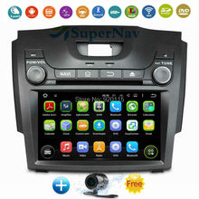 Quad Core 1024*600 Android 5.1.1 Car Multimedia DVD Player Radio Stereo 3G 4G WIFI GPS For Chevrolet S10/Isuzu D-Max 2013-2014
