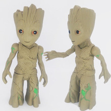 Big Size Guardians of the Galaxy 2 Little Baby Tree Man Action Figure Collectible Model Toy 25cm(China)