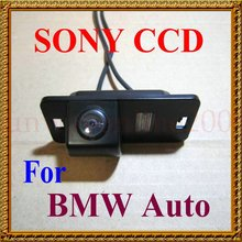 Free Shipping !!! CCD SONY Special for BMW E46 E39 BMW X3 X5 X6 E60 E61 E62 E90 E91 E92 E53 E70 E71 Car Rear View Reverse Camera